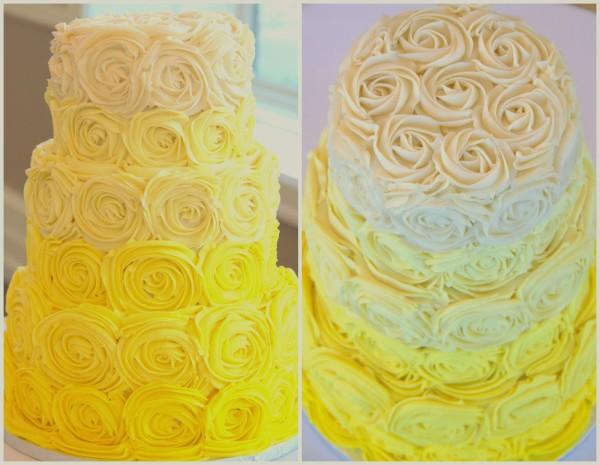Желтые торты