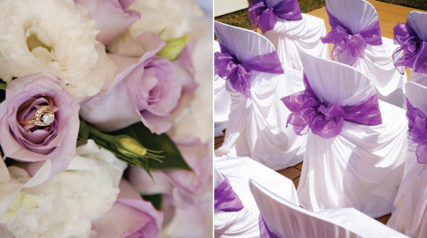 фиолетовый банкетный зал