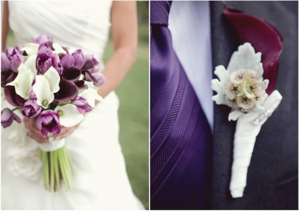 фиолетовая одежда на свадьбу