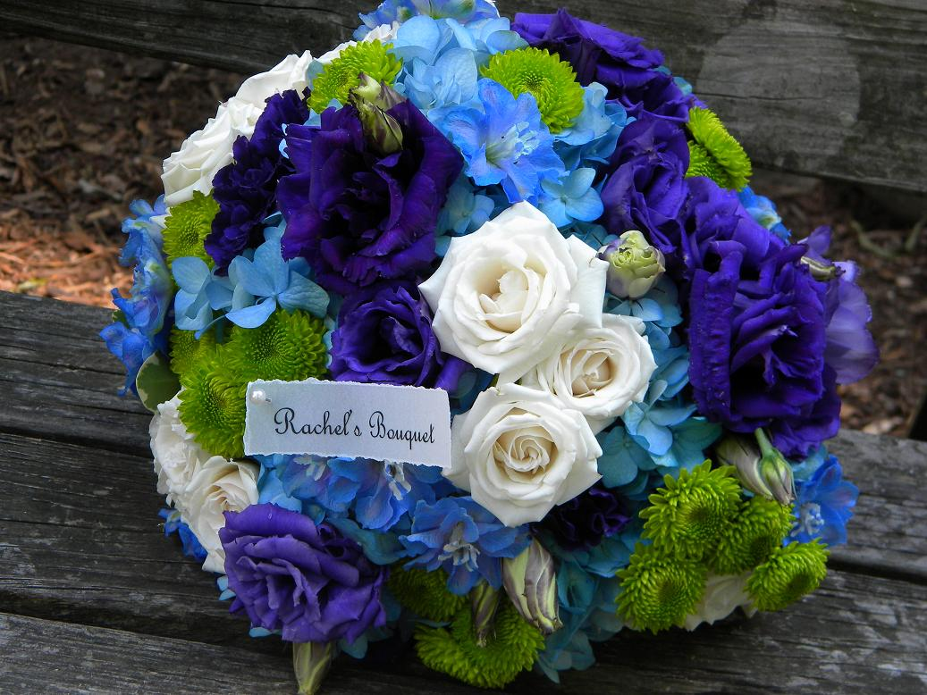 Blue Flower Suggestions For Wedding