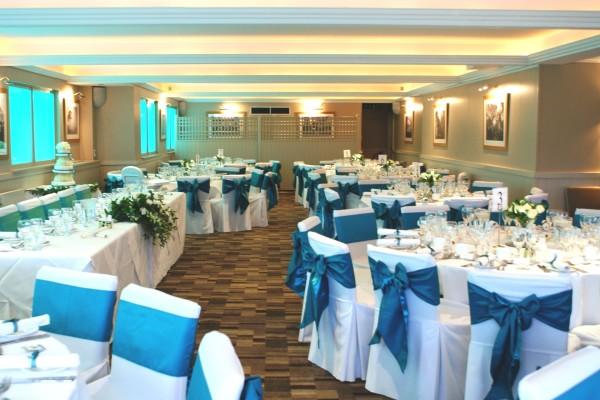 банкетный зал голубой