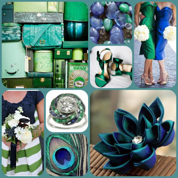 сине бирюзовый цвет