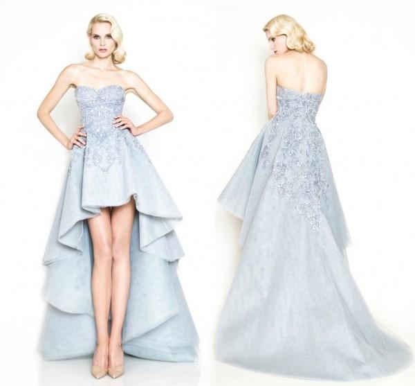 Образ в голубом платье