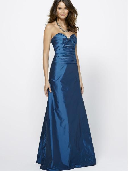 свадебное синее платье