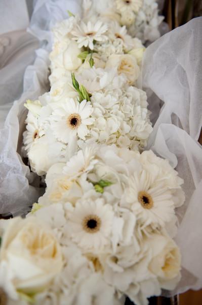 цветы на банкете