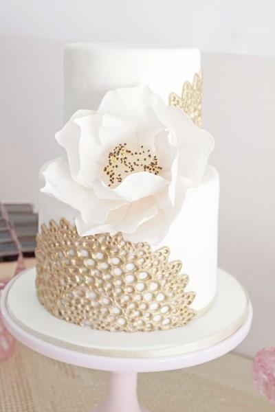 белый торт