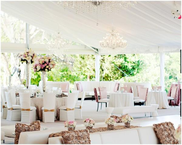 бело коричневая свадьба
