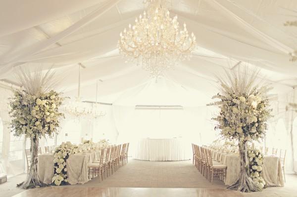 оформление белой свадьбы