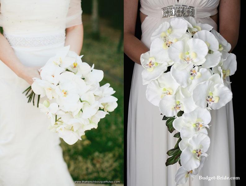 Малиновые орхидеи в свадебном букете, цена цветы оптом в москва