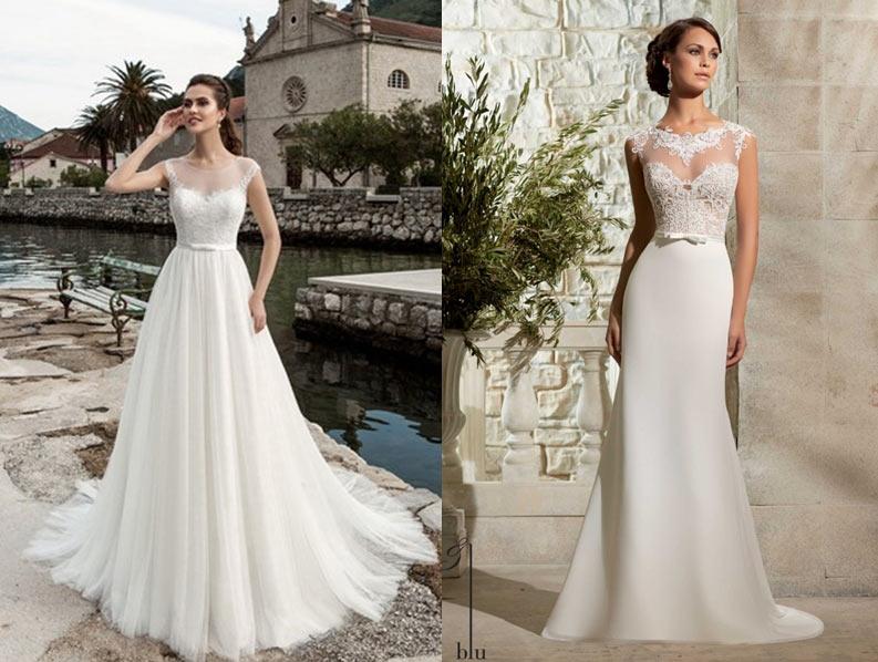 9d1ed5139a7 Выбор свадебного платья для невысоких девушек  лучшие модели