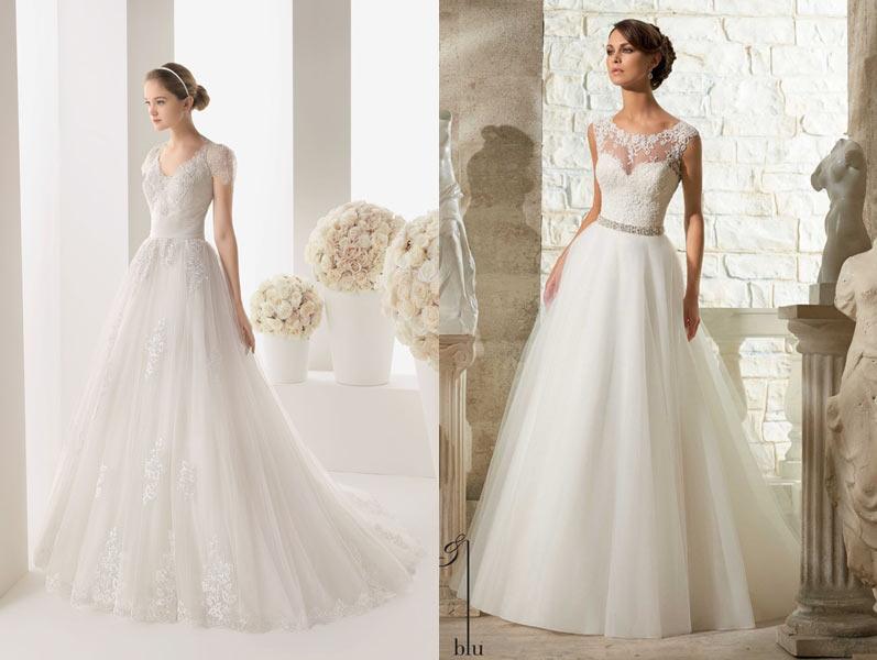 a991d09fb38 Ассиметрия. Похвастаться стройными ножками поможет платье с ассиметричной  юбкой. Подбирая такое свадебное платье