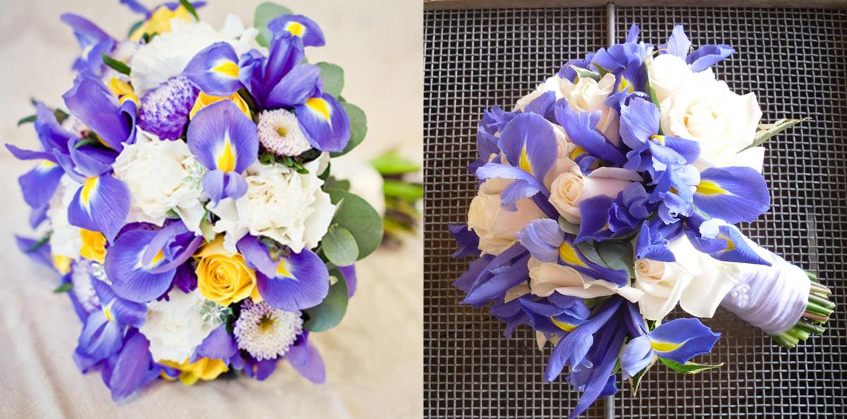 Кустовые розы в букете с другими цветами, букет цветов из пионов фото